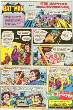 "Hostess Ad Batman and Robin in ""The Captive Commissioner"""