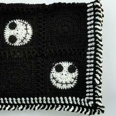 Halloween Crochet Blanket | Hooked on Homemade Happiness