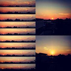 22/10/15 #tramonto #crepuscolo #sera #gorla #wow #fiorphoto #gorlamaggiore #sky #clouds #cielo #nuvole #vista #paese #skyporn #skyonfire #sunset #amazing #sun #sole #bestoftheday #bestphoto #sunlover #sunsetlover #italy #italian #lombardia #padania #valleolona by rickyf_12
