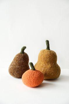 Crochet gourds never go bad. #etsyfinds #DIY