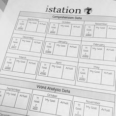 Istation graphs student data pinterest students student data a teacher at eubanks isd in texas lets students take charge of their istation data set goals for growth and graph their results fandeluxe Gallery