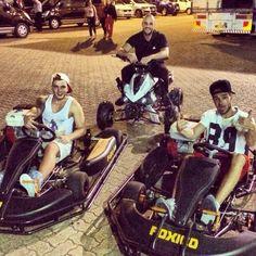 Liam & Josh go karting!