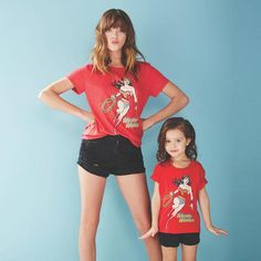 Happy Wonder Woman Day to all fans - no matter how big or small! | Mini Me Matching Tees