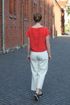 Styling und Nähideen für Blusenshirt Bloom - Schnittduett Normcore, Elegantes Outfit, Bloom, Shirts, Style, Fashion, Outfit Ideas, Moda, Stylus