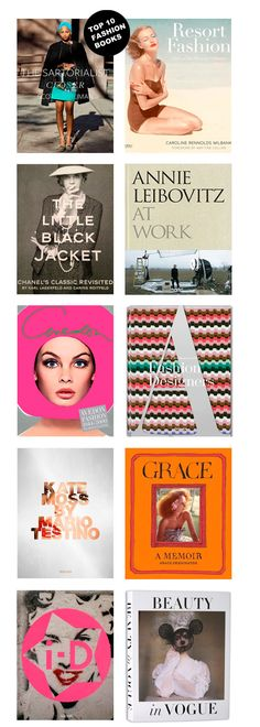 Top ten fashion books by Oysho
