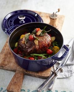 "It's the perfect day for a delicious pot roast or stew! ""The Staub Cocotte is unsurpassed for slow cooking meats and vegetables to tender perfection and for simmering hearty soups and stews."" What's your favorite dutch oven recipe?  #Staub #Cocotte #DutchOven #Cookware"