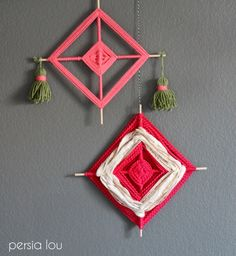Learn how to make a God's Eye Craft with this step by step photo tutorial! All you need is yarn and sticks to make this beautiful traditional craft.
