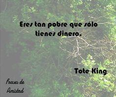 Frases de amor de rap de Tote King
