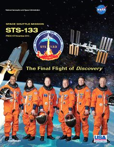 STS-133 Crew poster