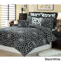 Juliette 8-piece Reversible Comforter Set - Overstock™ Shopping - Great Deals on Comforter Sets