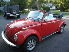 1974 VW Super Beetle Convertible, just like my 1st car, except my interior was black.