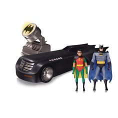 Batman The Animated Series Deluxe Batmobile with Lights