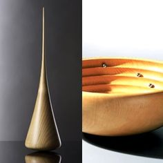 Siegfried Schreiber's wooden kinetic objects, sensual sculptures and meditation…