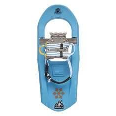 """Ultra lightweight """"bomb-proof"""" ABS construction with energy flex axle make our Jr. Series Molded Snowshoes for kids a true snowshoe…not a plastic toy. Single """"glove friendly ratchet"""" makes quick work of getting in and getting out. #ExperienceWinter #Winter #Snowshoeing #KidsActivities"""