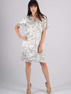 Short Sleeve Dresses, Dresses With Sleeves, Ideias Fashion, Cold Shoulder Dress, Lingerie, Silk Satin, Women's Sleepwear, Ladies Capes, Moda Masculina