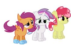 cutie+mark+crusaders | Cutie Mark Crusaders Pony Dogs by Zoiby