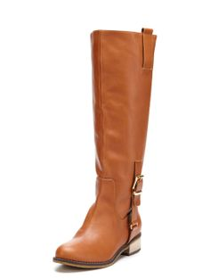 d747d49ee170 Mindi Boot by Kelsi Dagger at Gilt Cognac Boots, Brown Boots, Leather Boots,
