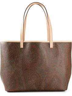 Shop Etro paisley print tote in Mantovani from the world's best independent boutiques at farfetch.com. Over 1000 designers from 300 boutiques in one website.