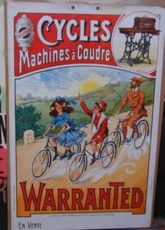 1000 images about affiches anciennes machines coudre on pinterest sewing machines sewing. Black Bedroom Furniture Sets. Home Design Ideas