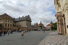 Česko, Praha - Hradčanské náměstí