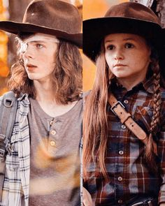 Carl Grimes n Judith Grimes Zombies The Walking Dead, Carl The Walking Dead, The Walk Dead, Walking Dead Tv Series, Walking Dead Funny, Walking Dead Season, Judith Walking Dead, Carl Grimes, Judith Grimes