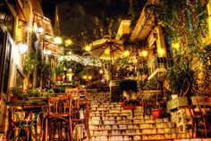 "See 1489 photos from 16379 visitors about café, areas in athens, and acropolis. ""Historic Plaka is down to the Acropolis hill and is full of. The Places Youll Go, Places To See, Athens By Night, Greece Photography, Scenery Photography, Stunning Photography, Acropolis, Parthenon, Corfu"
