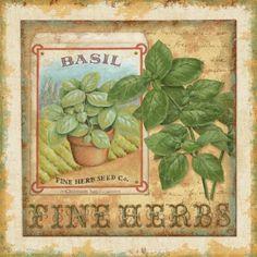 Fine Herbs I (Daphne Brissonnet)