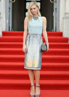 Vanessa Kirby at the London Premiere