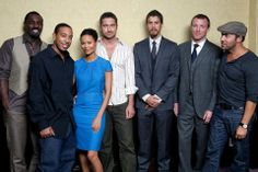 Toronto Film Festival Portraits 2008 Idris Elba Chris Ludacris Bridges Thandie Newton Gerard Butler Toby Kebbell Guy Ritchie Jeremy Piven