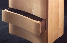 Bespoke chest of drawers in maple | Makers' Eye