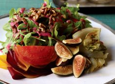 NYT Cooking: Beet, Fennel and Fig Salad With Cranberry-Sage Dressing
