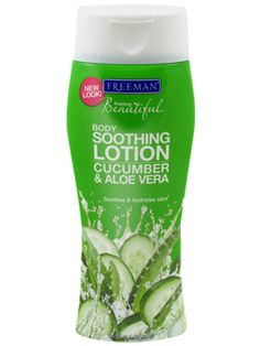 Cucumber & Aloe Vera Soothing Body Lotion | Freeman Aloe Vera, Acne Marks, Makeup Obsession, Acne Skin, Beauty Hacks, Beauty Tips, Beauty Products, Smell Good, All Things Beauty