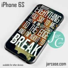 Linkin Park Lyrics Phone case for iPhone 6/6S/6 Plus/6S plus