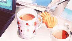 GIPHY is how you search, share, discover, and create GIFs. Food Kawaii, Anime Kawaii, Aesthetic Gif, Aesthetic Food, Aesthetic Japan, Anime Gifs, Anime Art, Cute Gifs, Anime Bento