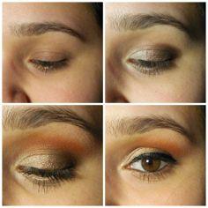 Makeup look with the Kat Von D Monarch Palette!