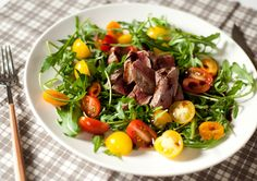 Салат со стейком, p90x