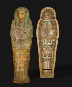 Coffin of Bakenmut, Thebes, Egypt, c1000-900 BC