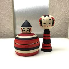 I do love you both. #kokeshi #wooden #handmade #handicraft #artist #japanese #collector #collection #woodwork #treasure