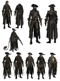 Yharnam Hunter Attire from Bloodborne