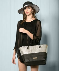 Genoa Hat, Rumab Poncho & Santorini Bag. Available to order online for immediate delivery from our trade website www.piarossini.com #trade #wholesale #SS14 #PiaRossini #Resortwear #Resort #Beachwear #CoverUps #fashion #style #trend #Monochromet #SunHat #Sequin