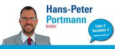 """""""Als grosse Herausforderung für unsere Zukunft sehe ich die Bewahrung einer manigfaltigen Freiheit."""" http://hanspeterportmann.wahlenzuerich.ch"""