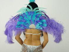Stage Performance-Brazilian Costume-Mardi Gras-Sci-Fi Carnival-Burning Man-Pride Parade Female GOLD SHOULDER PADS Chest piece Gladiator