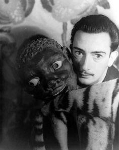 Dali and his little friend [1939] -via billyjane