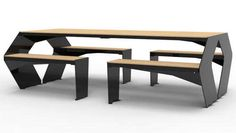 Cantilevered Marble Furniture - The SUTIL Table is Made Out of Carrara Marble and Carbon Fiber (GALLERY)