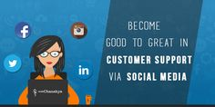 Social media has facilitated the customers a voice. Your brand and online reputation depend on how you provide social media customer service. Here are a few tips for providing great customer service through social media, Connect with us to share your experience with social media customer service.