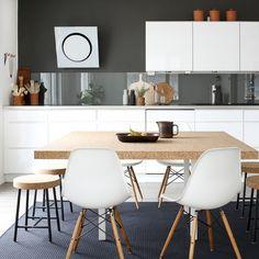 Ikea 'Sinnerlig' table & stool @bambula_naku