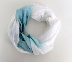 Beautiful circle wrap scarf.