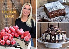Himmelsk god S´mores kake - Franciskas Vakre Verden Cheese Bombs, Garlic Cheese Bread, Smores Cake, Baking Tips, Soup And Salad, Tapas, Bacon, Deserts, Food And Drink