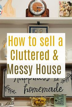 Moving home hacks that will make such a difference if you are trying to sell a cluttered and messy home. These tips will have your home ready to sell in no time at all Messy House, Moving Home, Money Hacks, Family Budget, Selling Your House, Decluttering, Home Staging, Kids House, Home Renovation