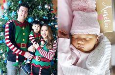 Ella Koon Welcomes Second Baby, Aurelie